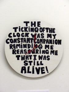 Clock by Mandy Webb