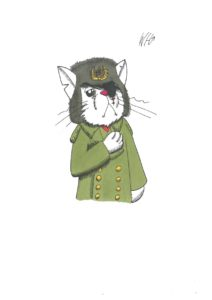 Soviet Cat by William Hanekom