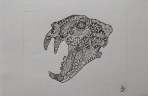 Saber-Toothed Tiger by Adz