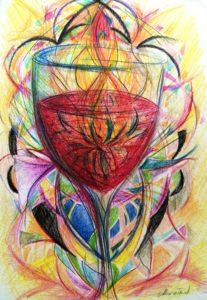 sacred cup by Maruska