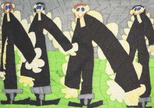 Four Men by Saffron Wright