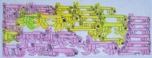Cat Pattern by Saffron Wright