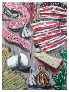Salsiccia Pancetta e Parmigiano by John Pipere