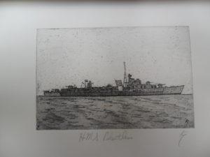 HMS Relentless by Ken Gowers