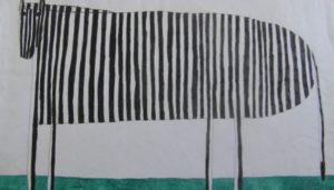 Zebra by Paul Cook