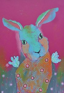 Winged Hare by Bea Roberts