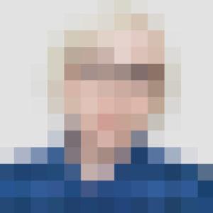 Pixel Head by Sarah Carpenter