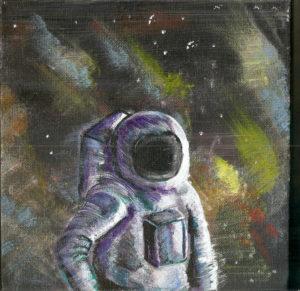 The Astronaut. by Charredarmour.com