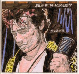 Jeff Buckley by J.Sharp
