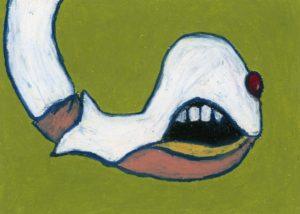 Vampire by sapphia illustration