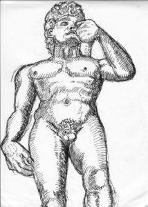 "Michelangelo's ""David"" by Charlie"