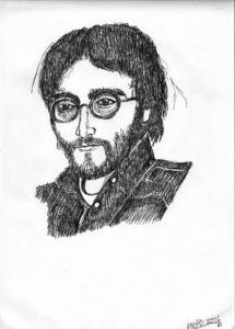 John Lennon by The Last Bird