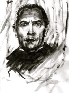 Bela Lugosi by Andrew Saggers
