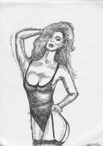 Model girl 1 by Charlie