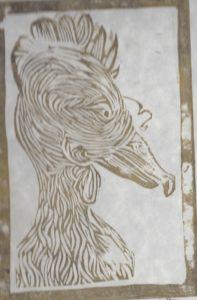 rooster by Chloe Labbett