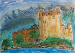Scottish Castle by Tom Paine