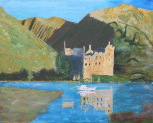 Scottish Castle by Bernard Parker