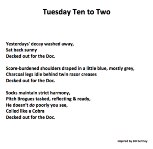 Tuesday Ten to Two by Stuart Craig Downs