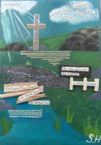 At the cross by Suz Hemming
