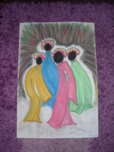 Dance movements of colour by mumamafia