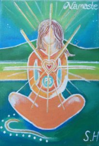 Namaste by Suz Hemming