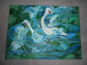 Swan Lake by Suz Hemming