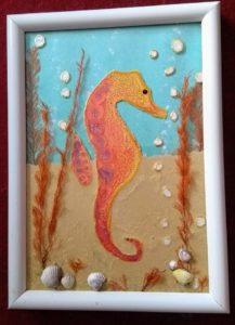 Sea horse by VJ Francis