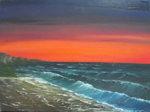 Seascape I by Lesley