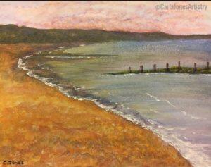 Seascape by Carla Jones