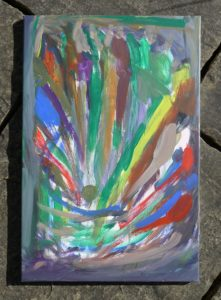 Sebastian Chadwick Histed – oil painting of Fireworks by Sebastian_CH
