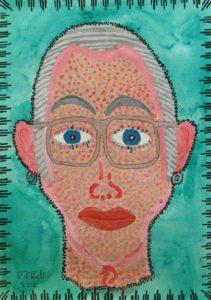 self_portrait_5 by Philip John Bell