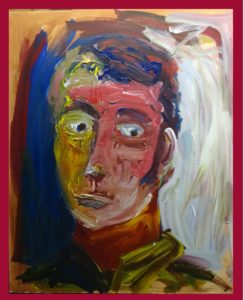 self portrate 2 by Stephen White