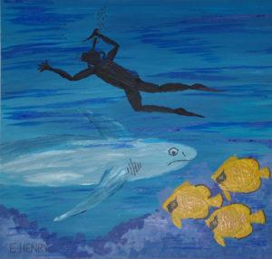 Shark Encounters by Edward Henry