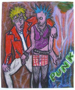 Punks by Sharon Rogers