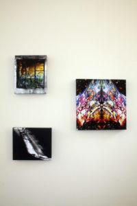 Ward9 gallery exhibition. by ruffrootcreative