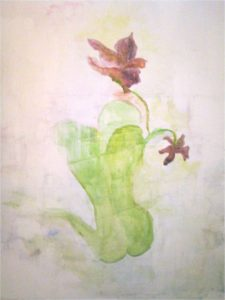 Leaf Shoulder by Clare  Hyatt