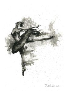 Ballerina 3 by Jonathan dos Remedios