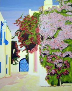 Sidi Bou Said by john anderson
