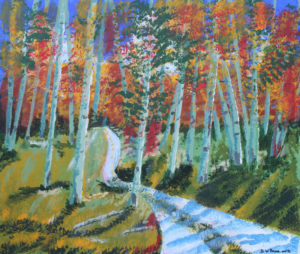 Silver Birches by Bernard Parker