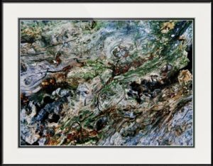 Timber Flow Framed Print by ruffrootcreative
