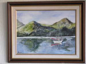 Dinghy at sleep by Michael Spencer
