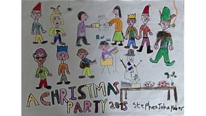 Christmas Party 2015 by Stephen Faber
