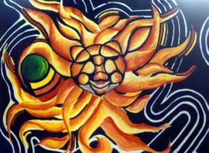 Sun by Ivana Vavreckova