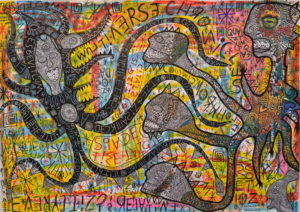 space_time_tangle by greg bromley