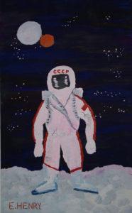 Spacewalk 1965 by Edward Henry