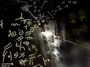 Spontaneous Elaboration From A Random Arrangement Of Lights by G.E.W. Shepherd
