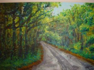 Spring Woods by Rowena Turney