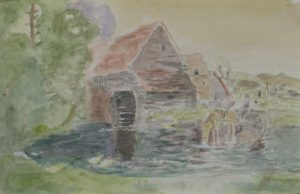 The Old Watermill by Sylvia Scarsbrook
