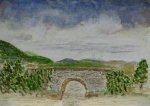 Old Bridge by Sylvia Scarsbrook
