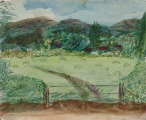 Castlemorton Common by Sylvia Scarsbrook